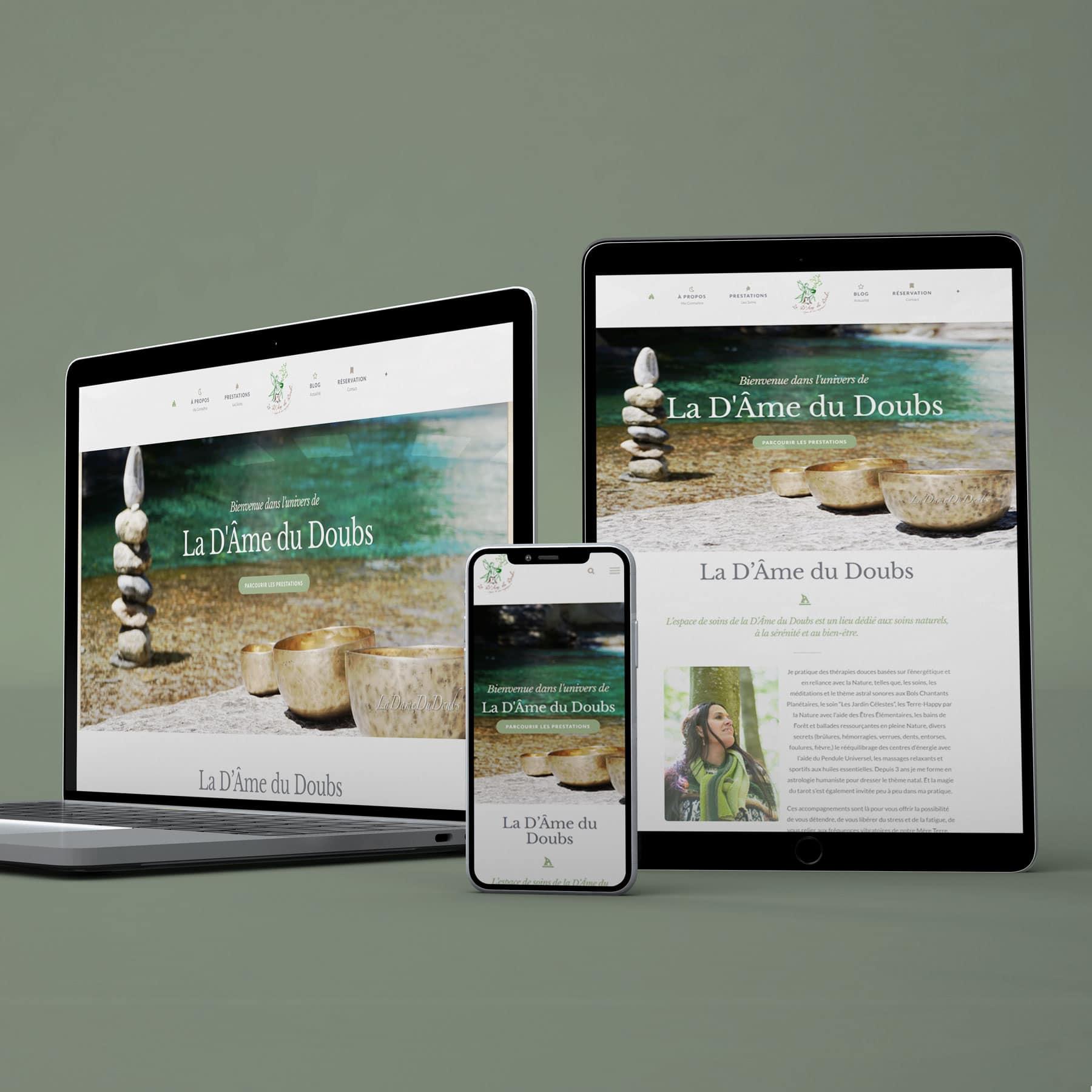 La d'Âme du Doubs site web ArtCode