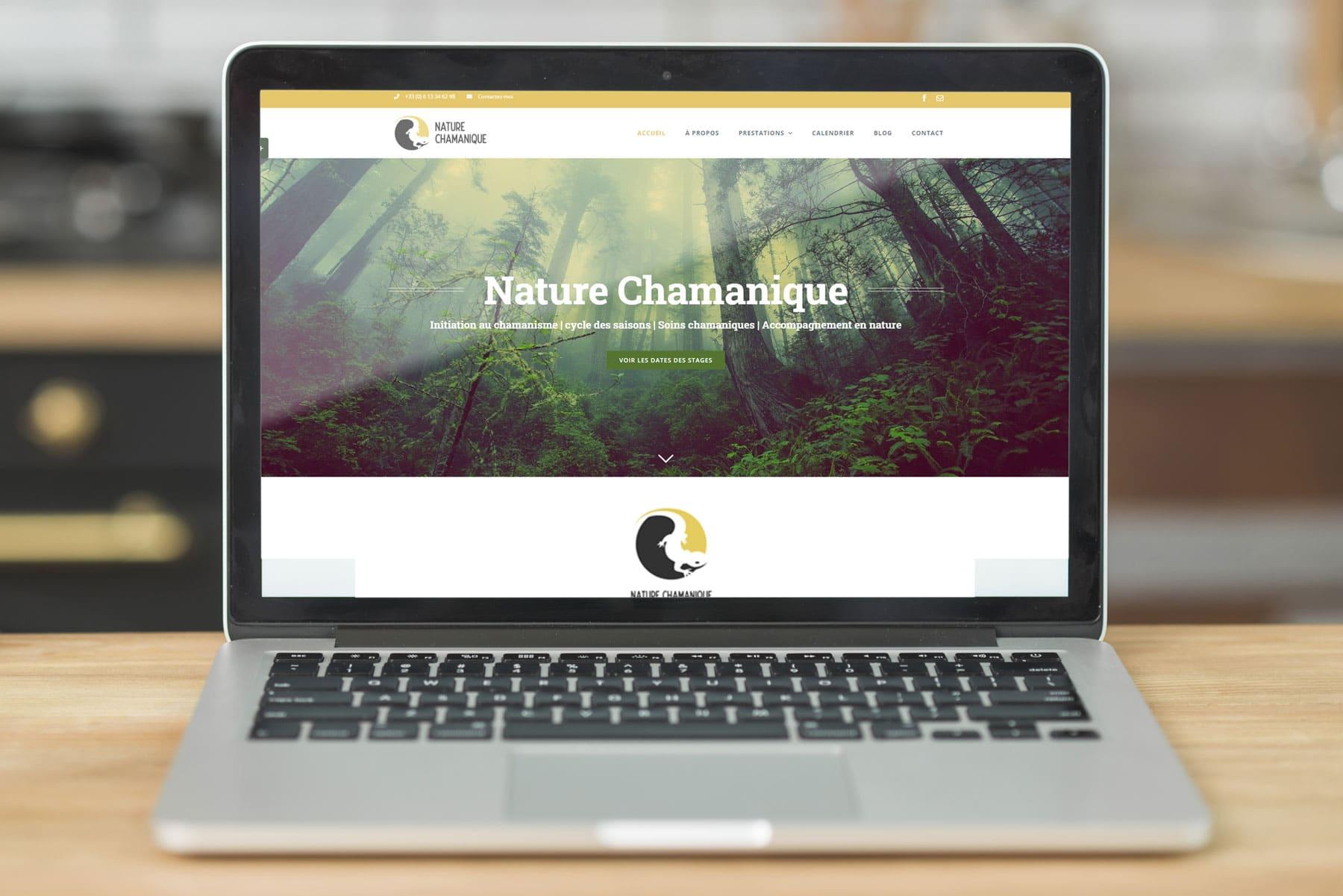 Nature Chamanique site web ArtCode